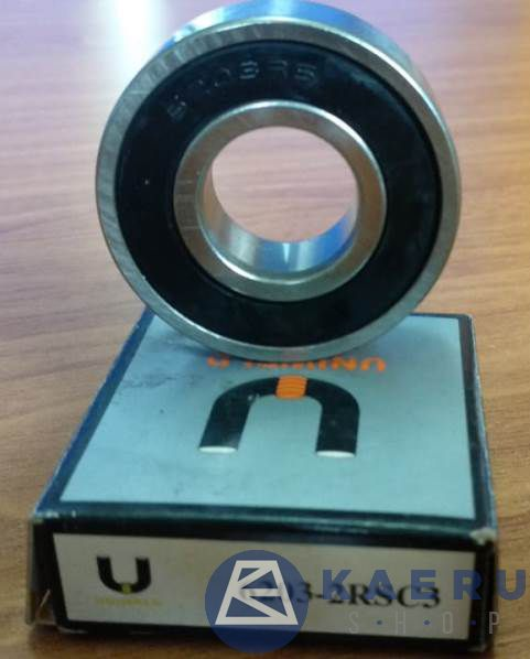 double rubber sealed bearing