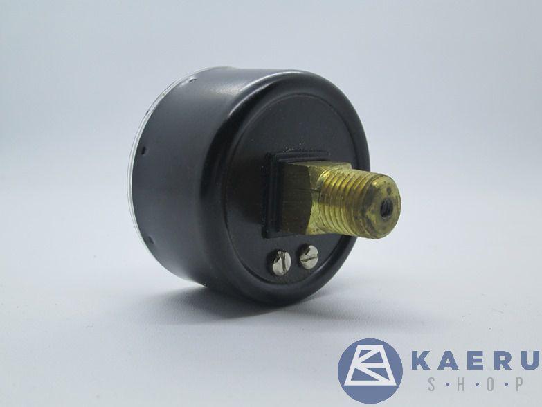 foto bagian belakang pressure gauge janatics A2G07