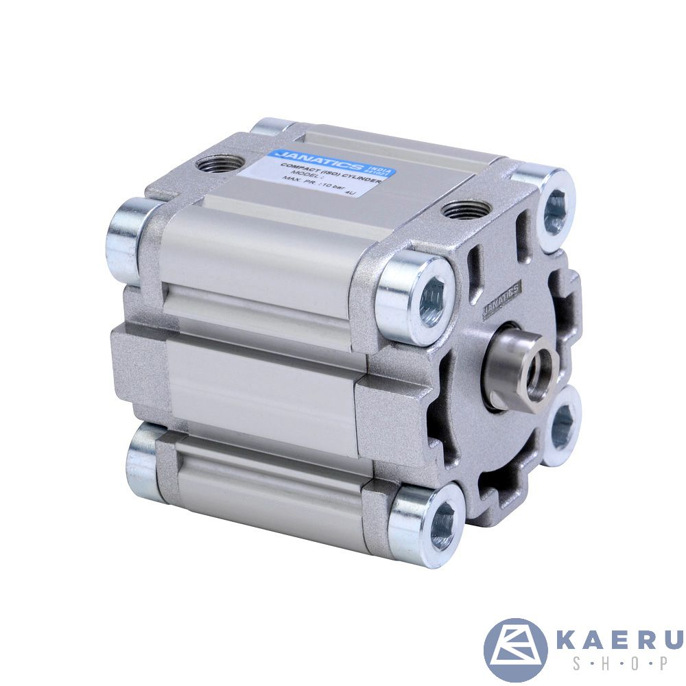 A64032025O,Janatics,Compact Cylinders,DA 32 x 25 Compact(ISO) Cyl. Basic,Double acting,Elastomer end Cushioning,Non Magnetic,Female Thread