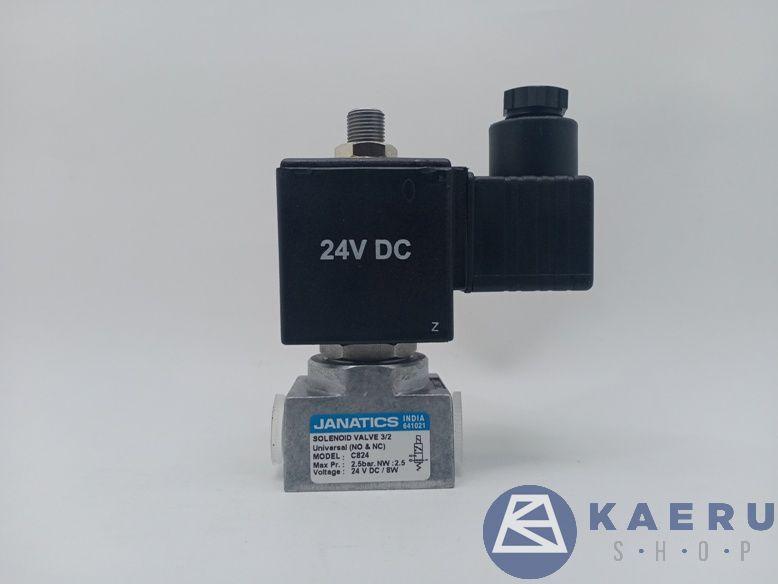 janatics solenoid valve 24v DC