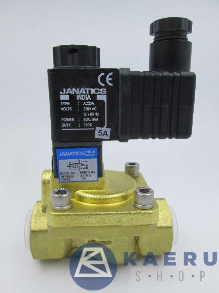 DMN227A62-W 2/2 katup solenoid