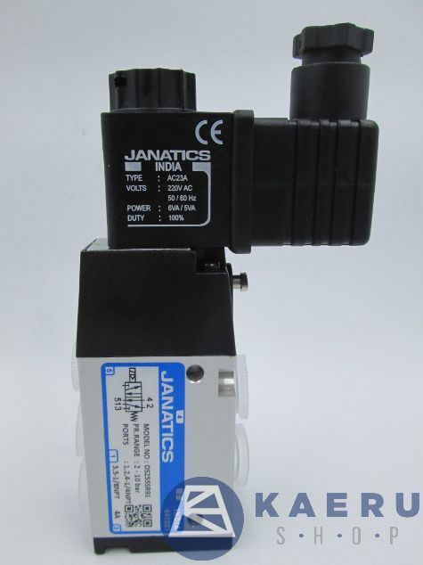 Single Solenoid Valve DS255SR91-A Janatics Pneumatic