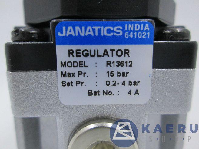 Jual regulator pneumatic dari Janatics ke seluruh Indonesia