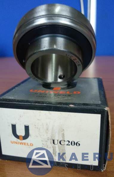 UC 206 (AS : 30 MM) UNIWELD BEARING INSERT
