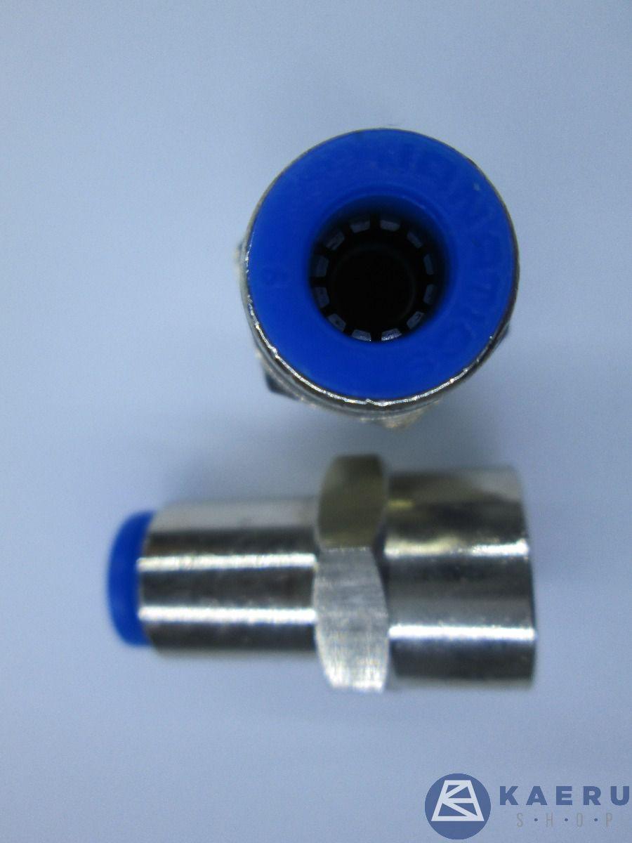 Female connector Dia6x 1/4