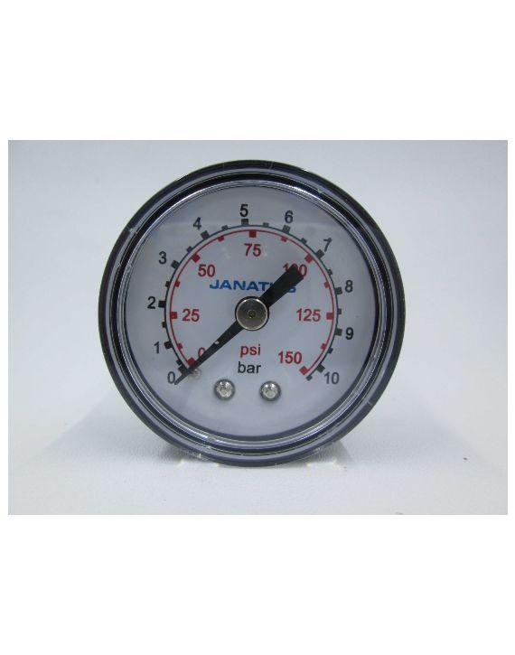 Pressure gauge (0-10bar) R1/8, Dia 40