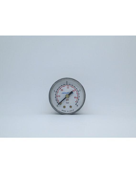Pressure gauge(0-4bar)R1/4,Dia 50
