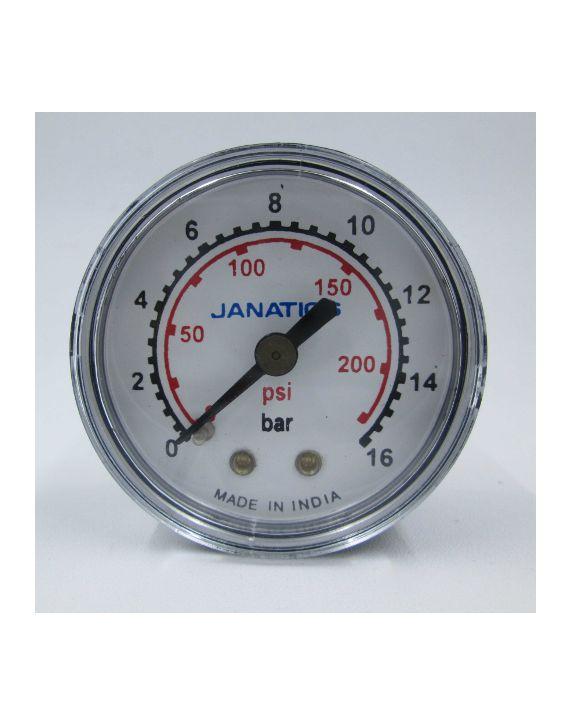 Pressure gauge(0-16bar)R1/4,Dia 50