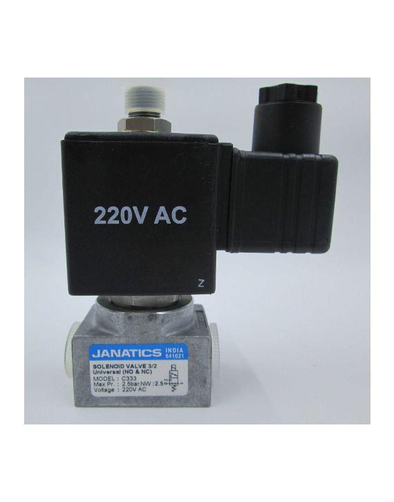SOL VALVE 3/2 UNI,2.5NW,220V AC(DA)