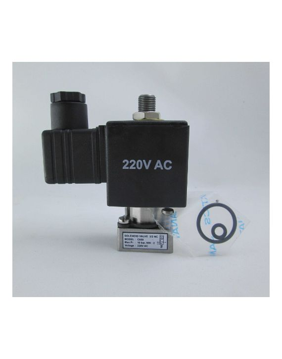 SOL.VALVE 3/2 NC,10bar,220V AC(GANG MOUNTING)