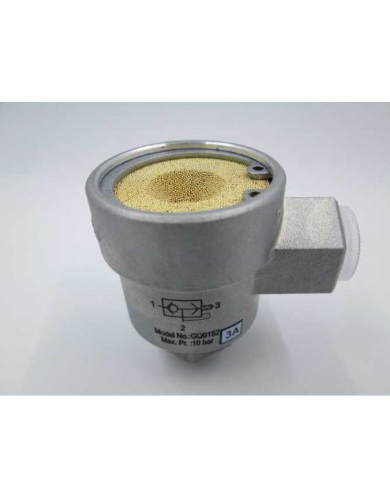 Quick Exhaust valve - G3/8 (Silencer type)