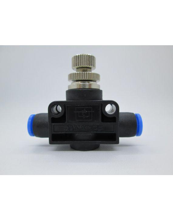 Flow control valve (Straight) Dia 6