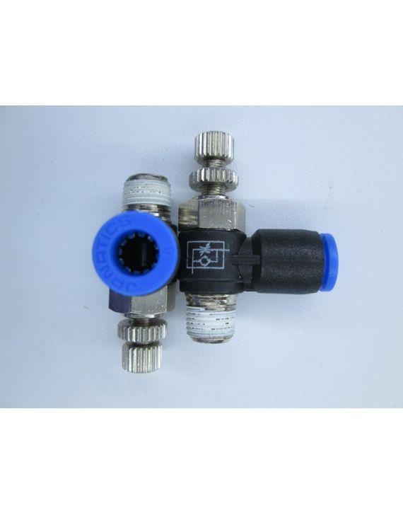 Flow control valve 1/8 x Dia 6