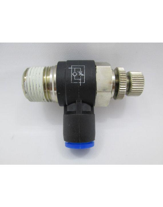 Flow control valve 3/8 x Dia 8