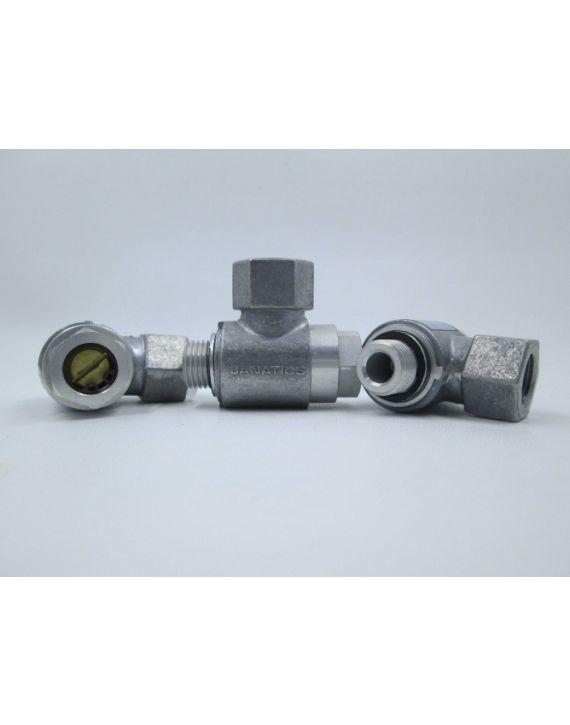 "1/4""-Flow control valve (Exhaust control)"