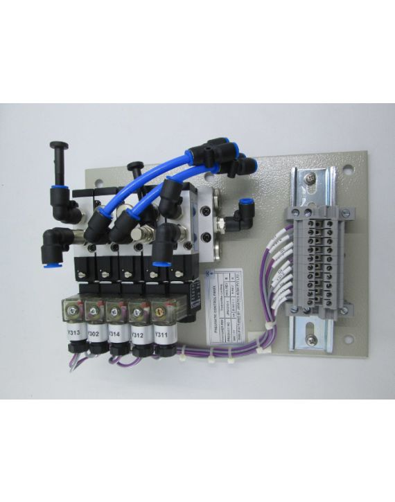 Pneumatic panel (D-Sub connector)